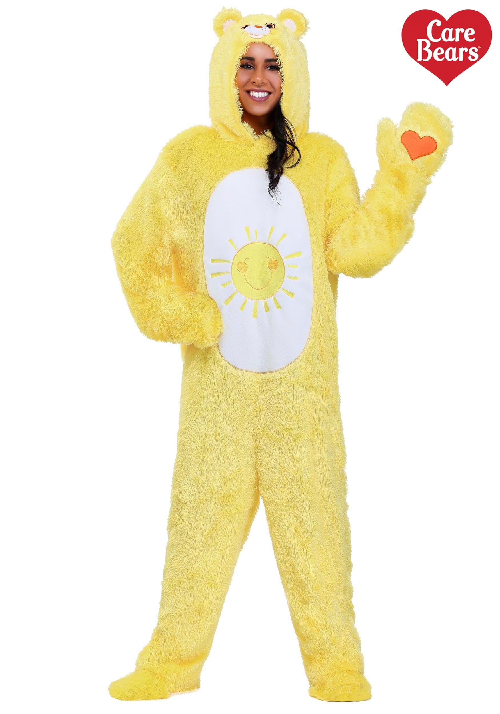 Adult Classic Funshine Care Bears Costume-3736