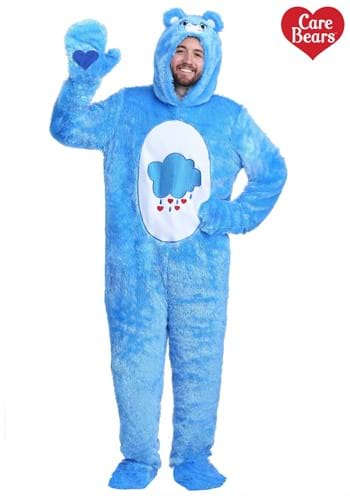 Adult Care Bears Classic Grumpy Bear Costume