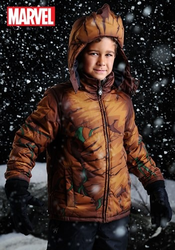 Marvel Groot Boys Puffer Coat upd