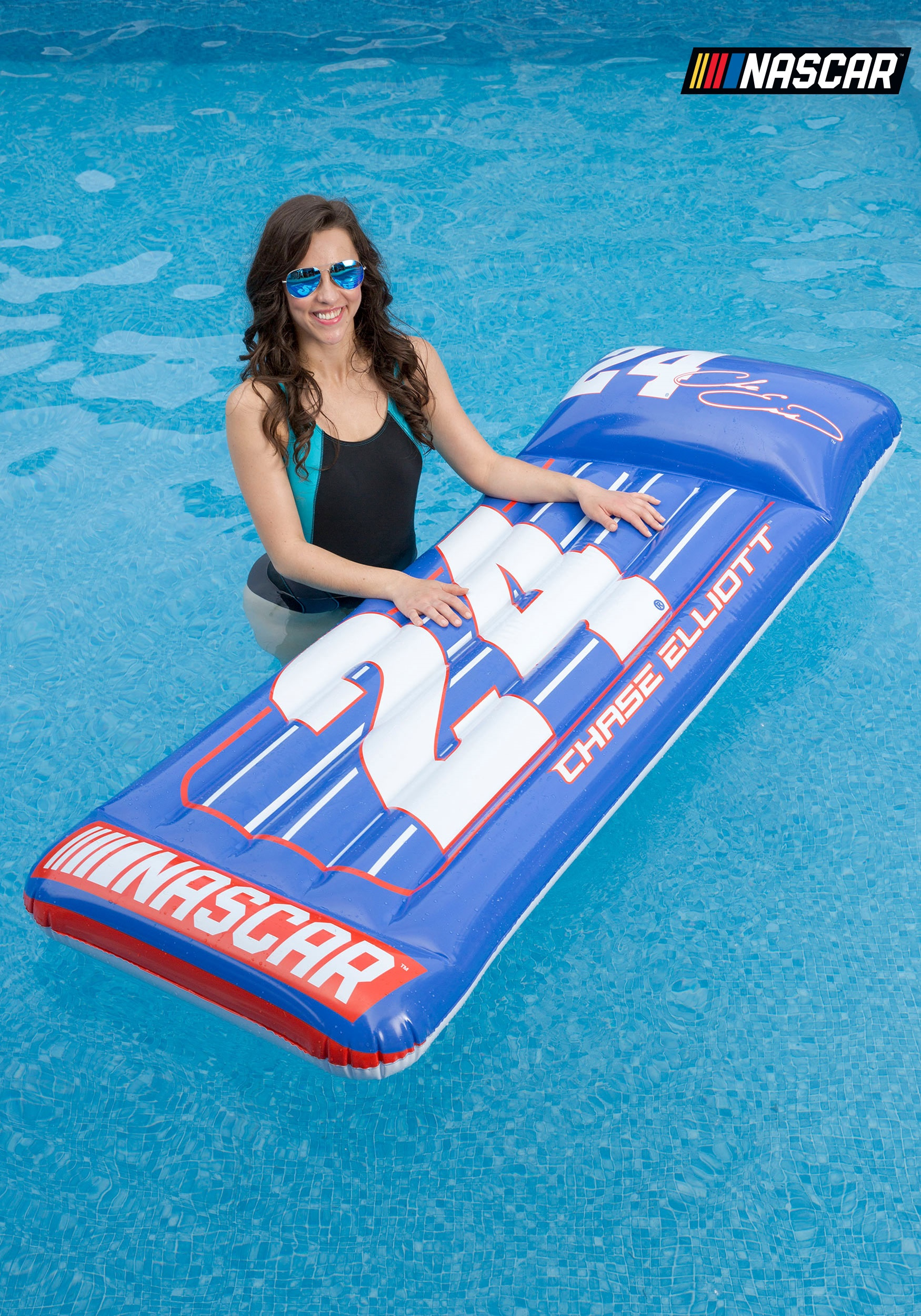 Chase Elliot Mat Pool Inflatable From Nascar