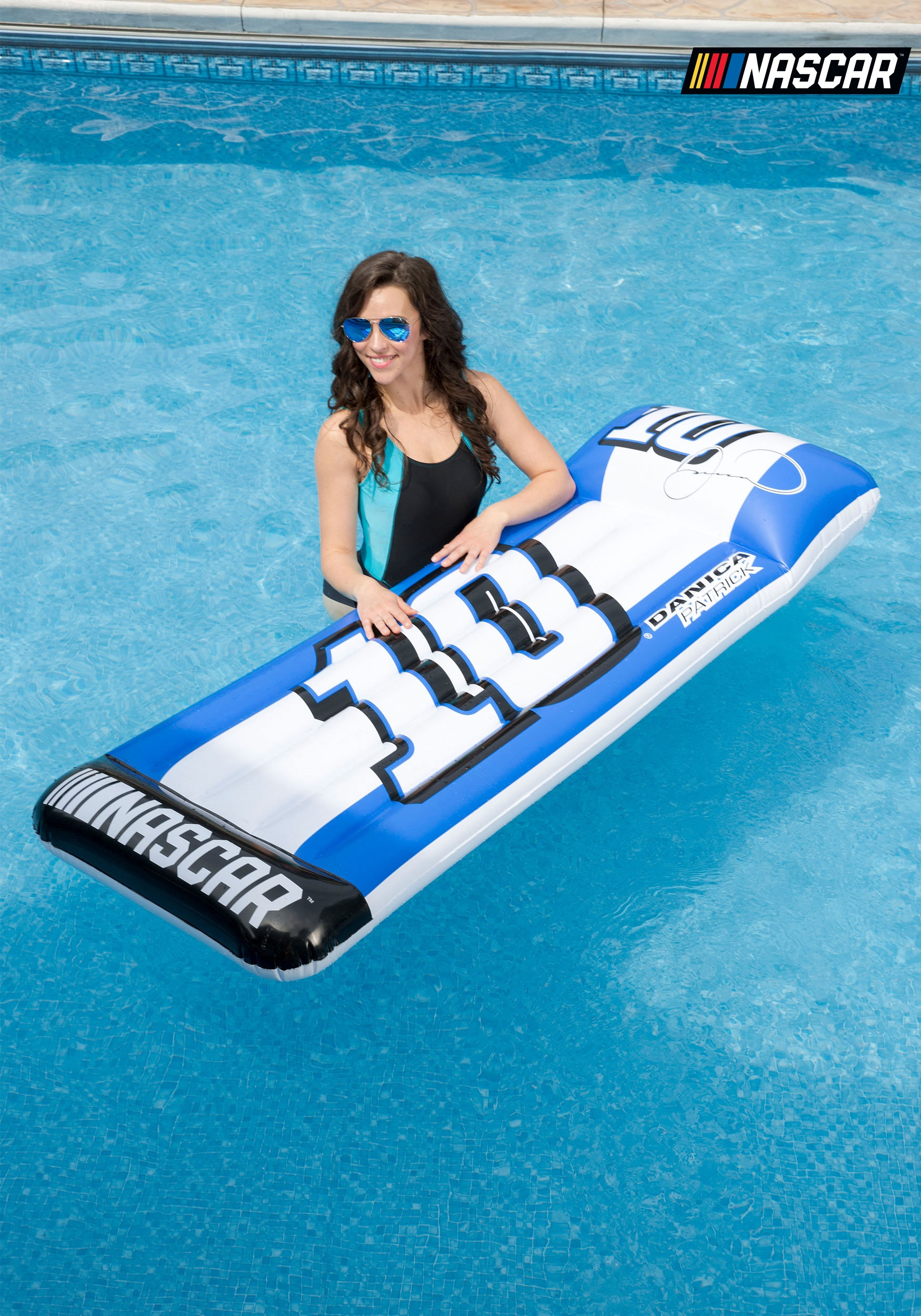 Danica Patrick Mat Pool Float From Nascar