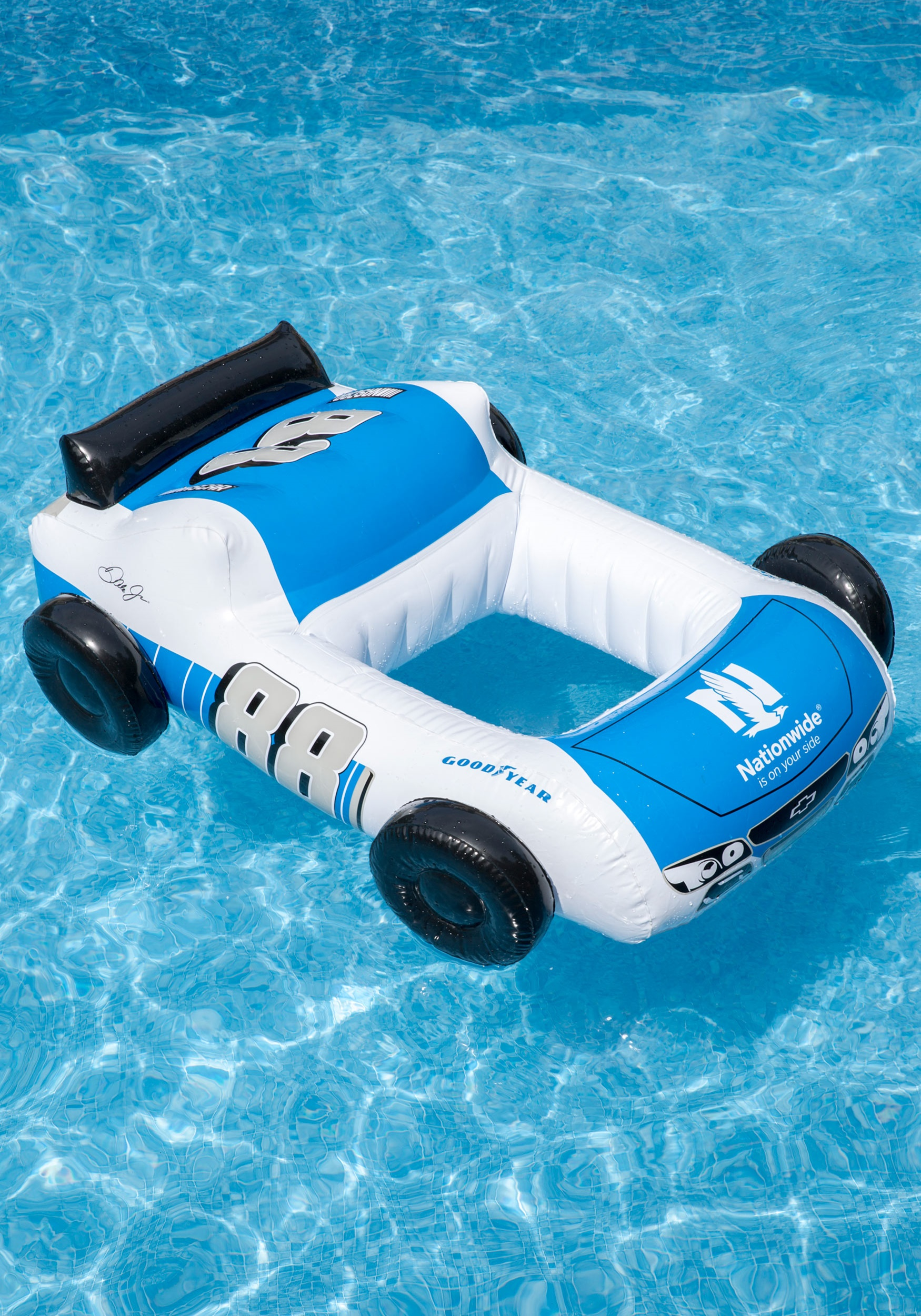 Race Car Pool Inflatable NASCAR Dale Earnhardt Jr