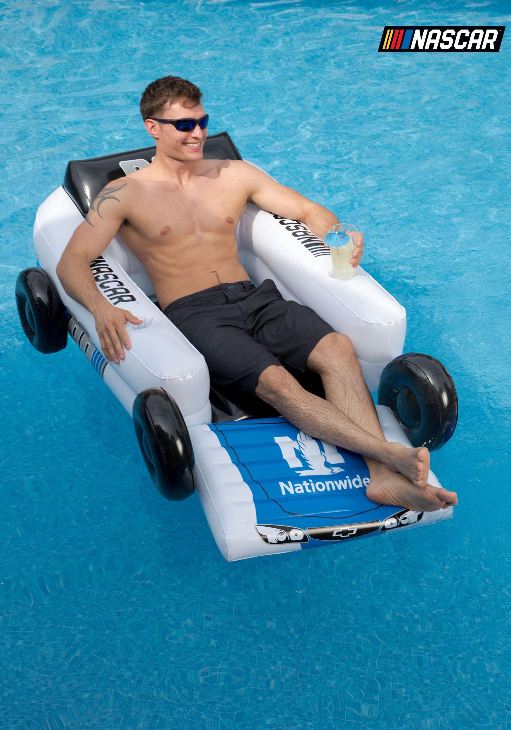 Superb NASCAR Dale Earnhardt Jr. Car Pool Float Lounger