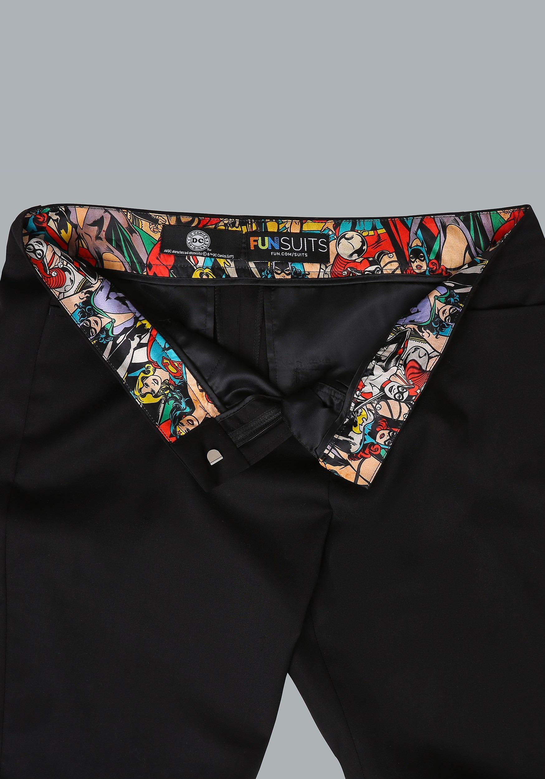 DC Comics Vintage Print Women's Trousers7