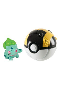 Throw N Pop Poke Ball Bulbasaur