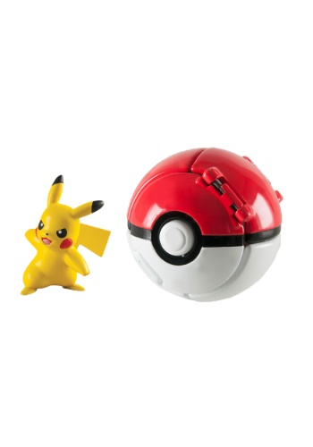 Throw N Pop Poke Ball Pikachu from Pokemon TOMT19116-ST