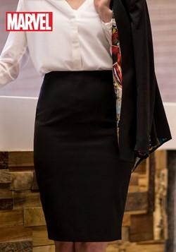 Marvel Vintage Print Womens Pencil Skirt upd