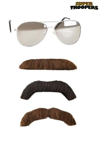 Super Troopers Adult Mustache and Sunglasses Kit11