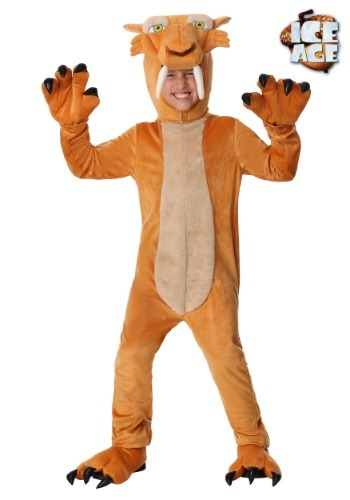 Boys Diego the Sabertooth Tiger Costume