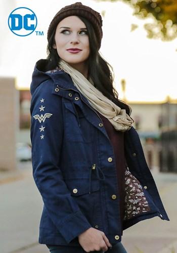 DC Wonder Woman Canvas Cargo Womens Jacket main upd