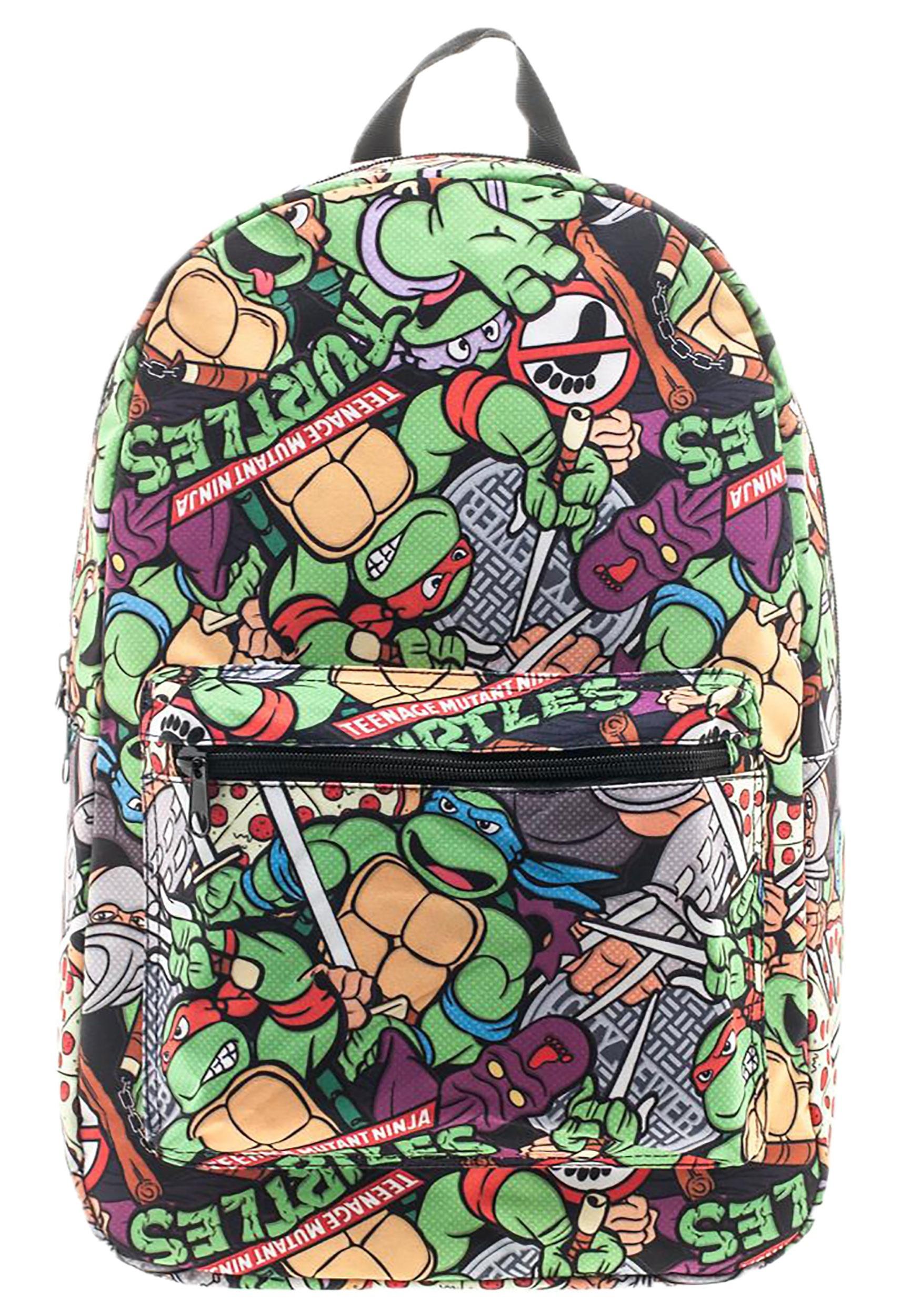 Age Mutant Ninja Turtles Cartoon Backpack