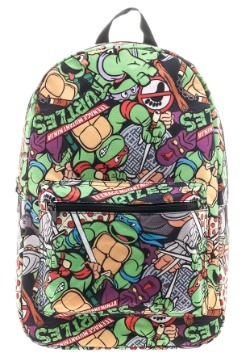 Teenage Mutant Ninja Turtles Cartoon Backpack