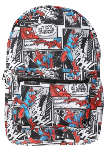 Spider-Man Comic Backpack BWBQ4NZ9USM01PP00-ST