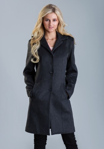 Women's Classic Marvel Wool Coat