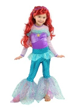Girls Playful Mermaid Costume