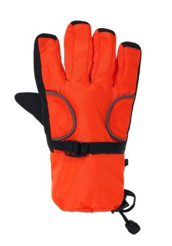 Pair of Kids Orange Astronaut Gloves