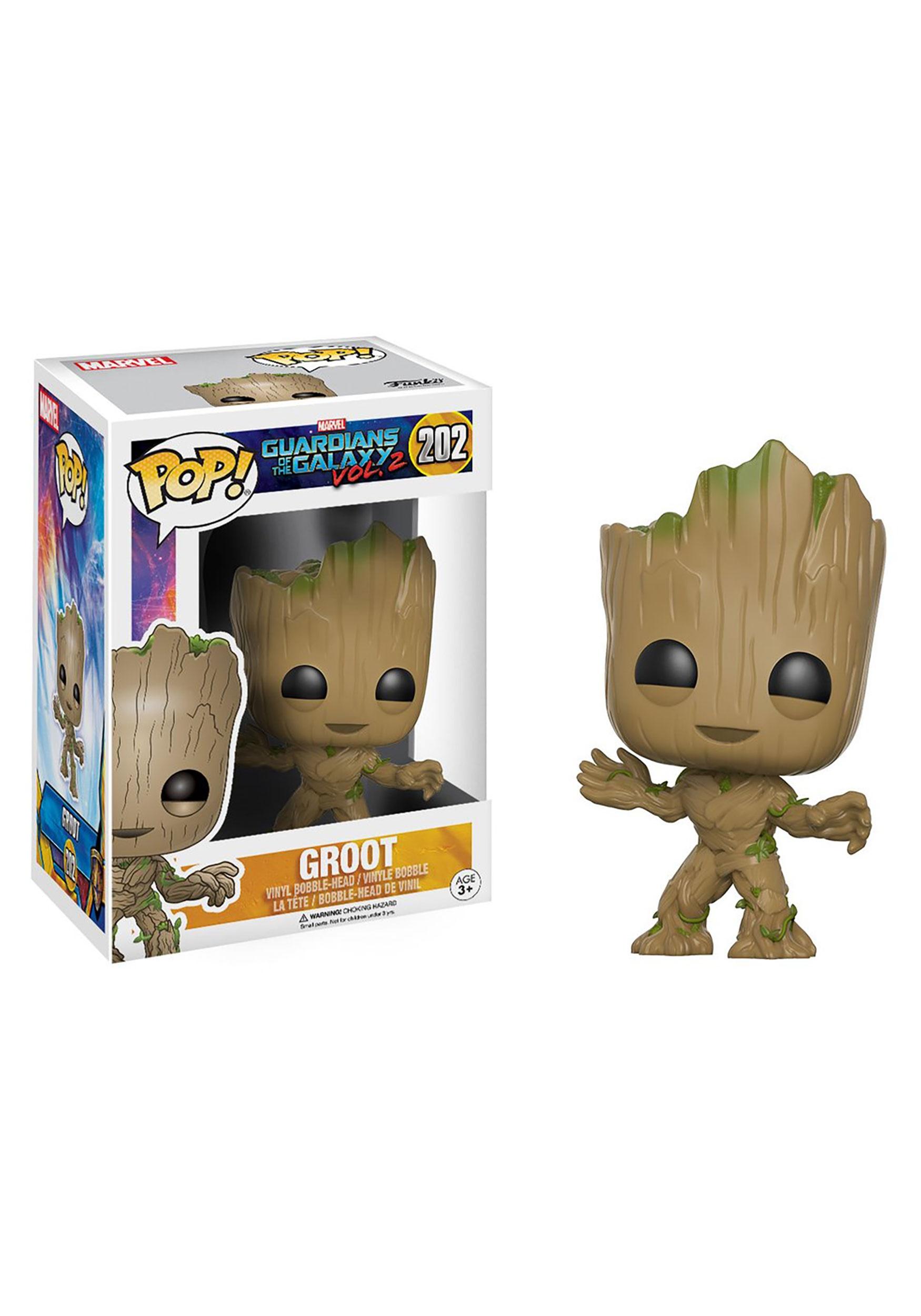POP Guardians 2 Groot Bobblehead Figure FN13230