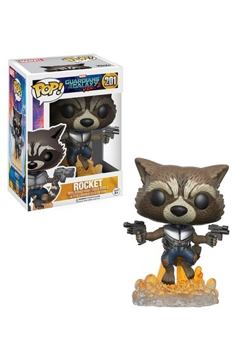 POP Guardians 2 Rocket Raccoon Bobblehead Figure FN13270