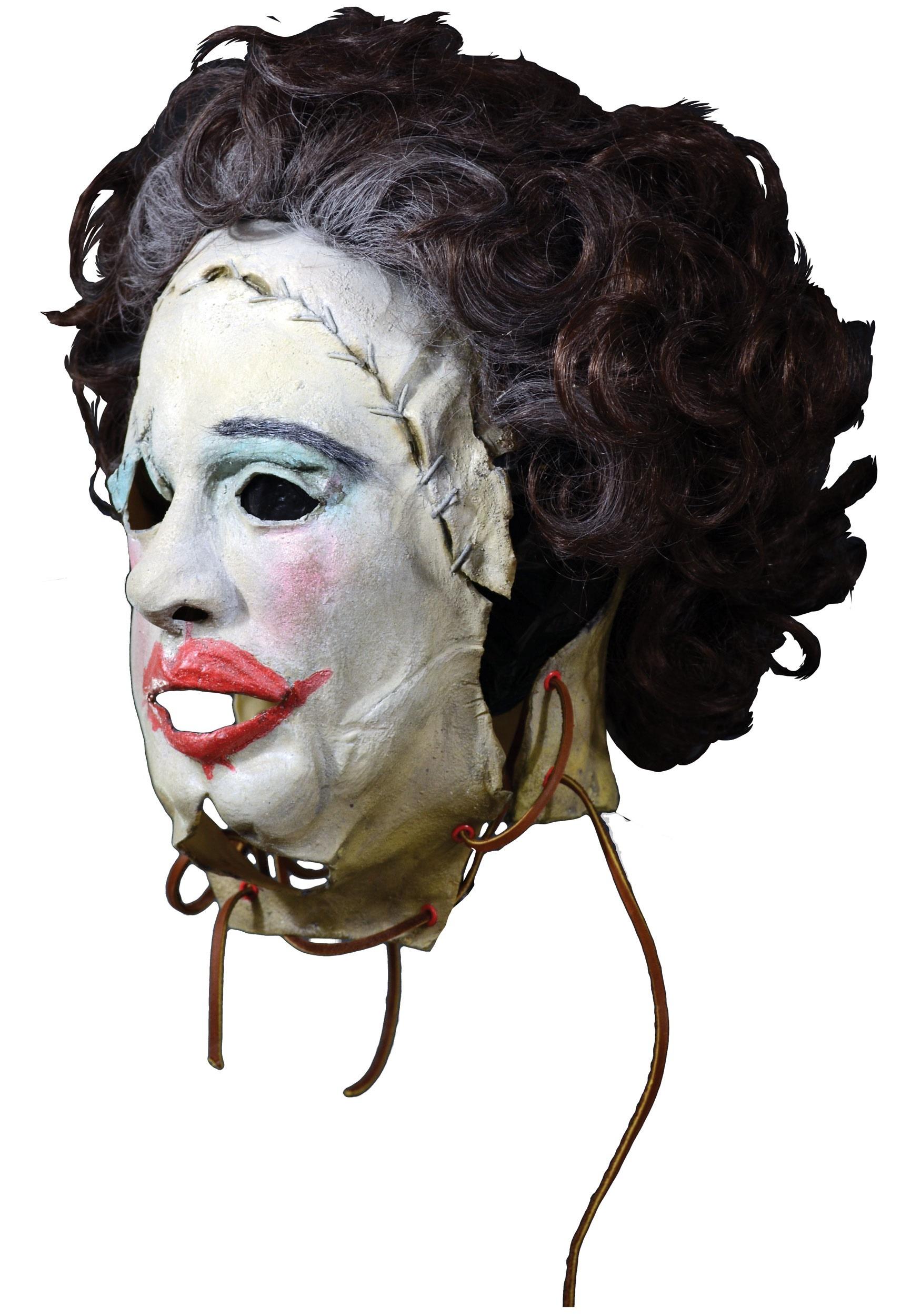 Texas Chainsaw Massacre 1974 Leatherface Pretty Woman Mask