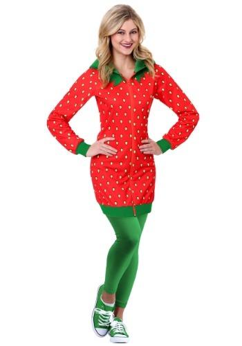 Strawberry Hoodie Costume Dress