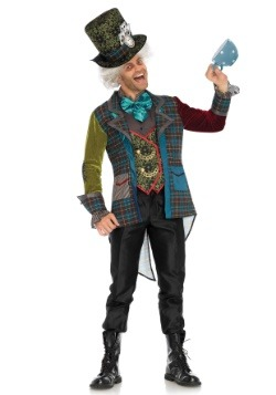 Colorful Mad Hatter Men's Costume