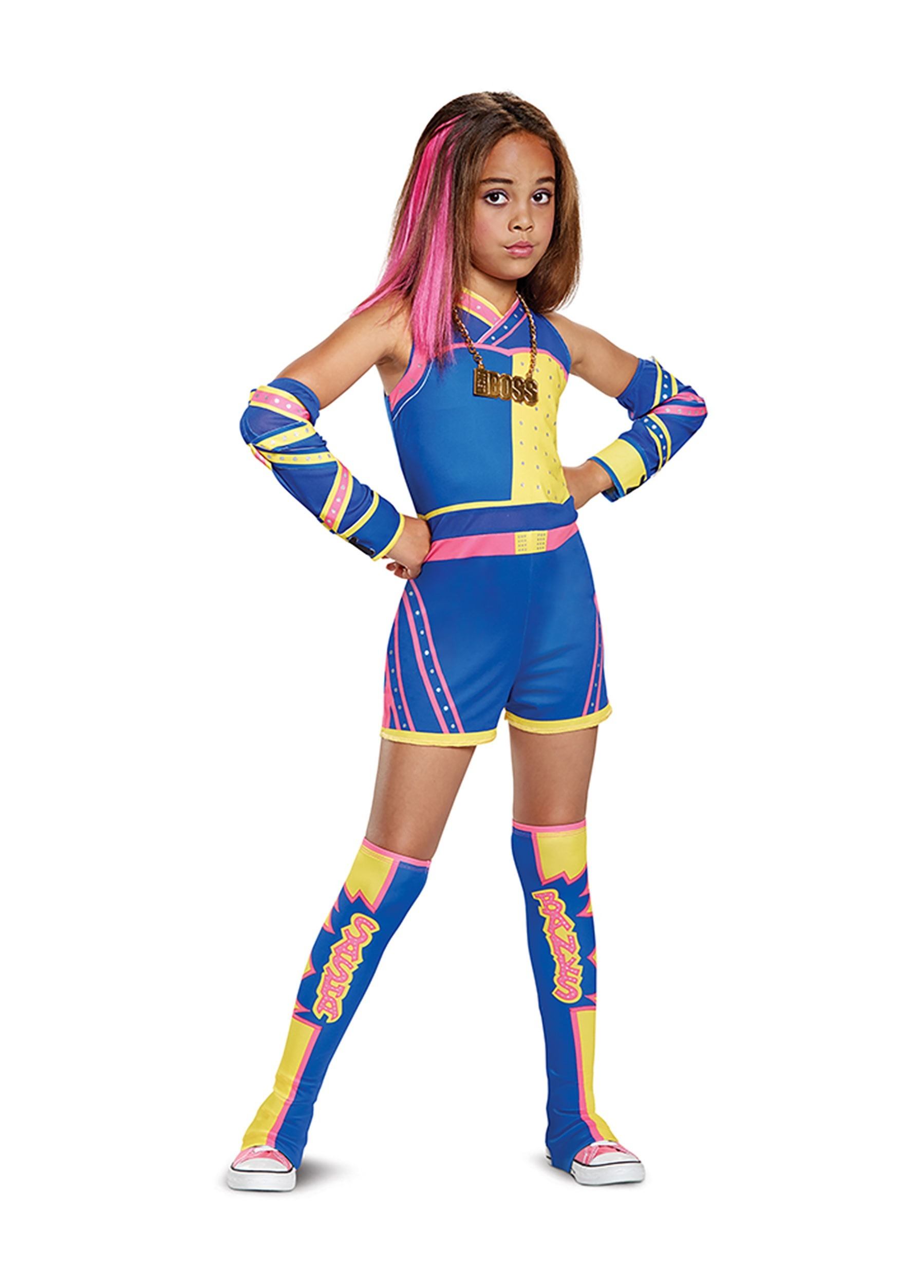 Sasha Banks Costume For Girls