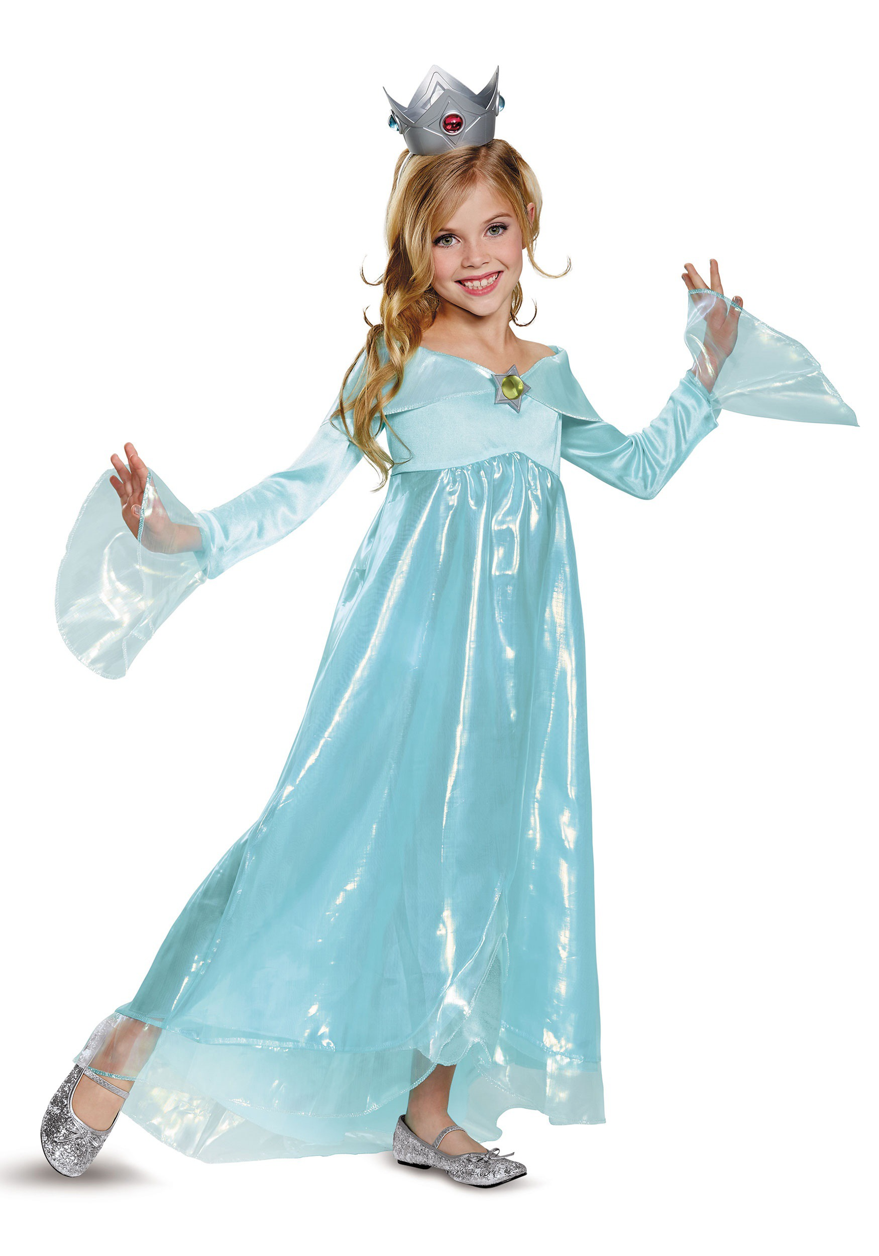 Super Mario Rosalina Deluxe Costume For Girls