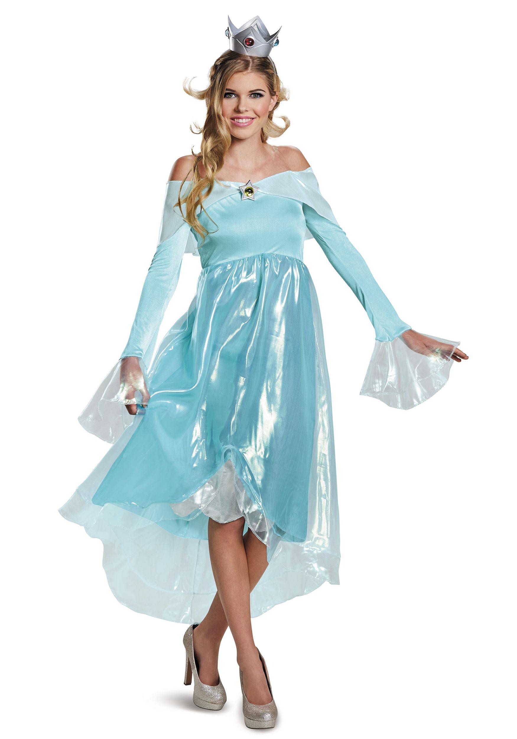 Super Mario Rosalina Deluxe Costume for Women
