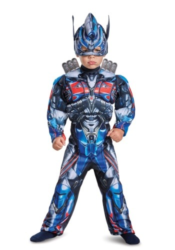 Optimus Prime Toddler Muscle Costume