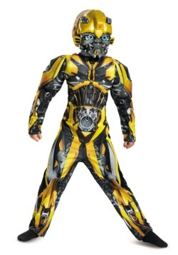Bumblebee Child Muscle Costume