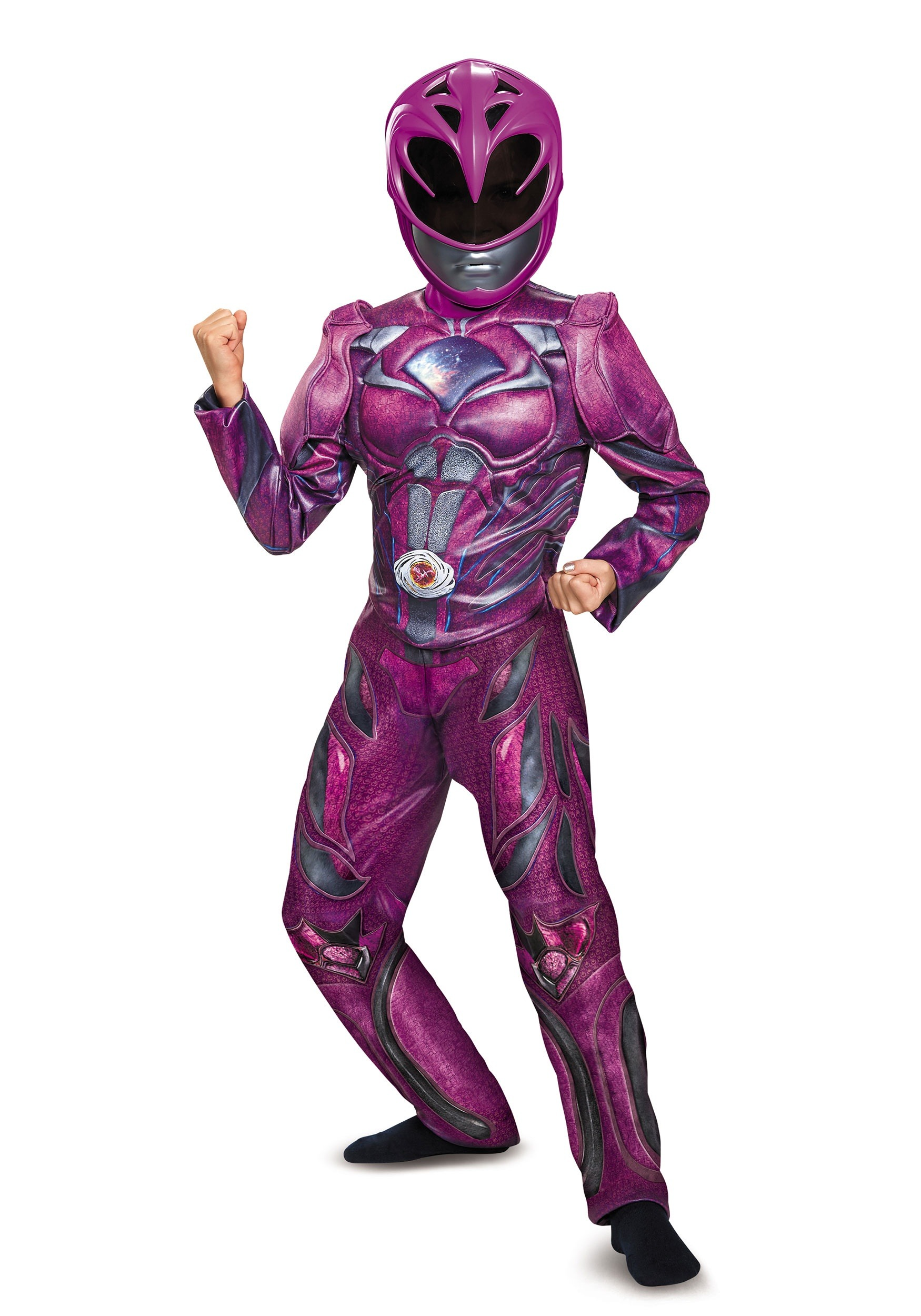 Pink Ranger Child Movie Deluxe Costume DI19100