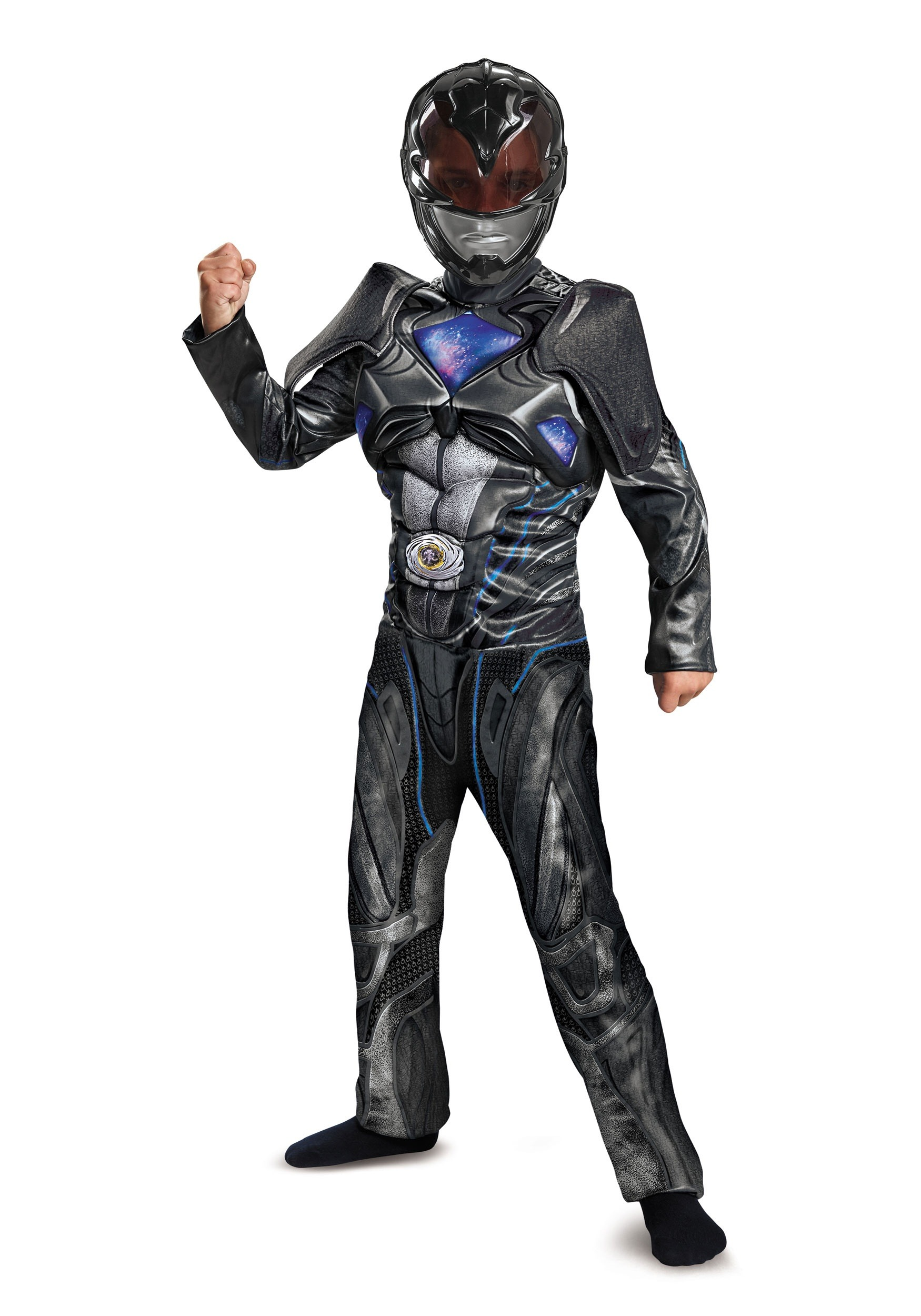 Black Ranger Child Movie Deluxe Costume  sc 1 st  Fun.com & Black Ranger Movie Deluxe Child Costume