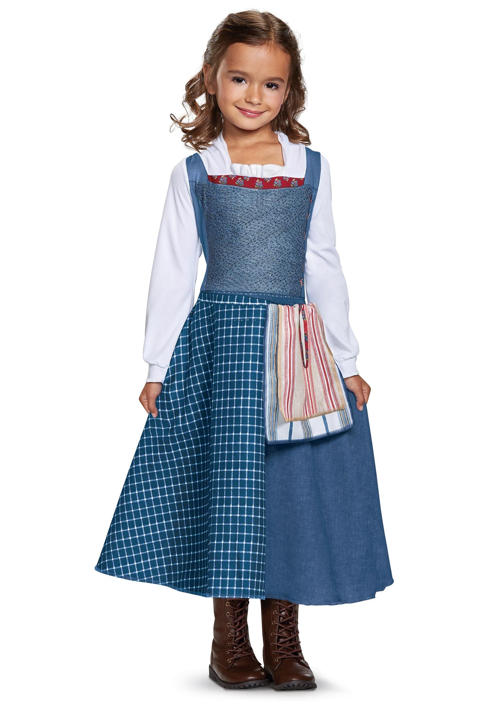 Belle Village Dress Classic Girl\'s Costume