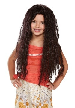 Moana Deluxe Child Wig
