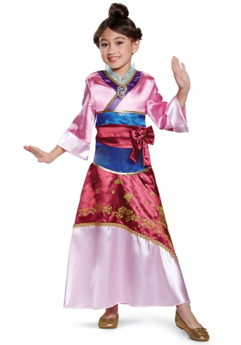 Mulan Deluxe Kid's Costume
