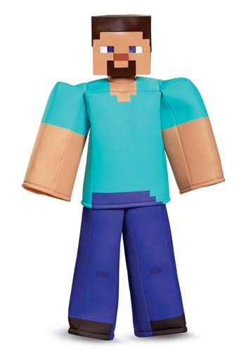 Kid's Minecraft Steve Prestige Costume