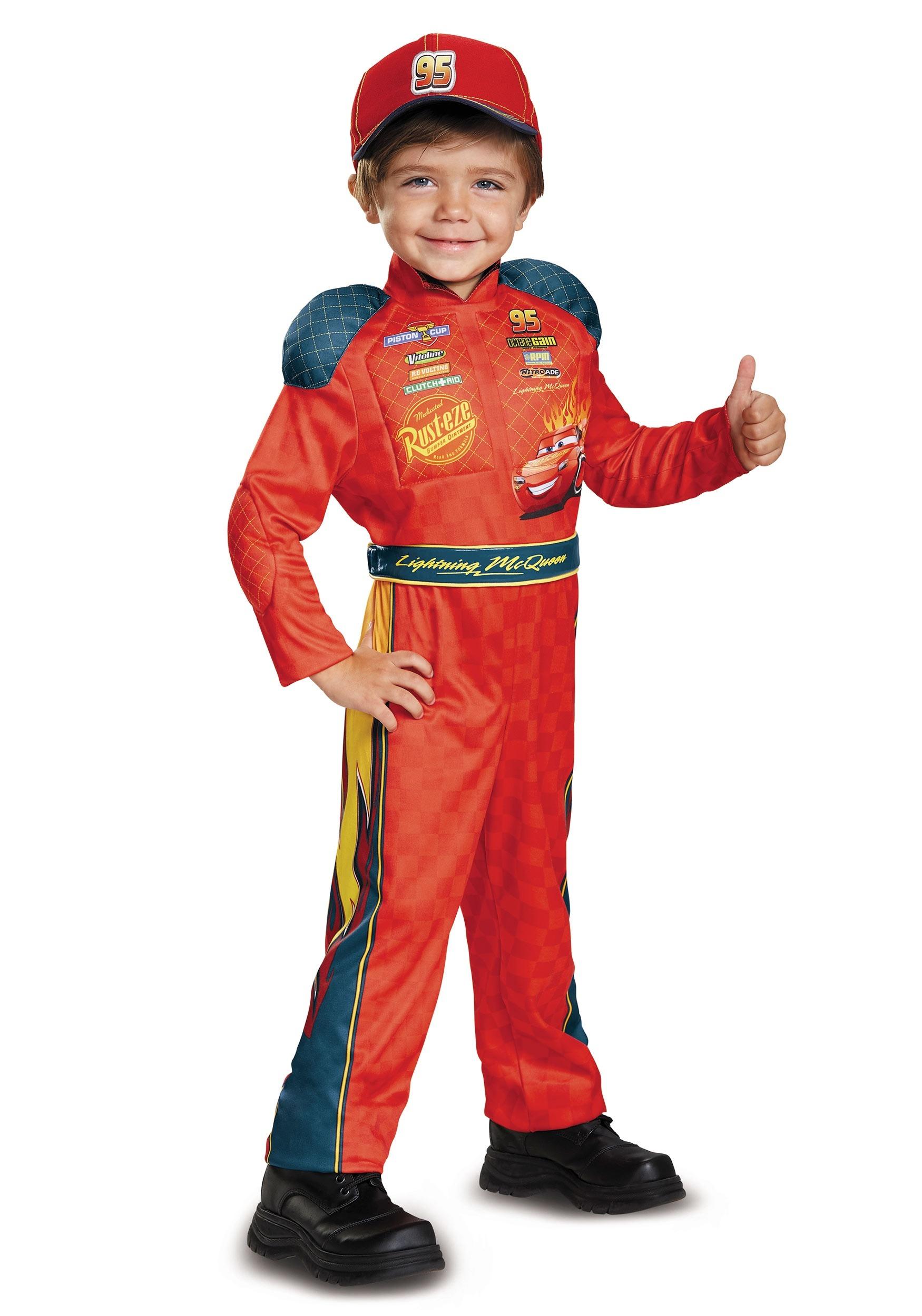 Toddler Lightning McQueen Classic Costume DI19875