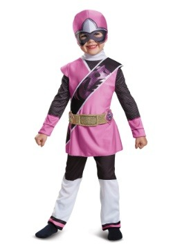 Toddler Pink Ranger Ninja Steel Muscle Costume