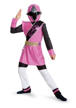 Pink Ranger Ninja Steel Child Costume