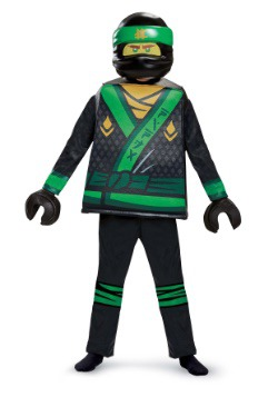Ninjago Movie Lloyd Deluxe Child Costume