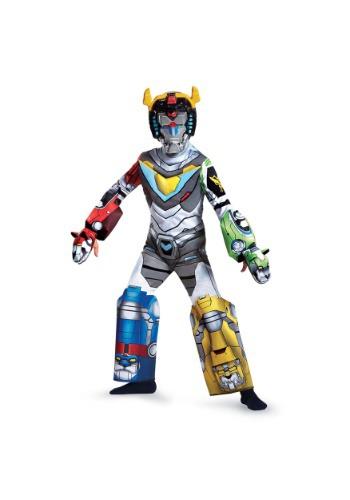 Kids Deluxe Voltron Costume