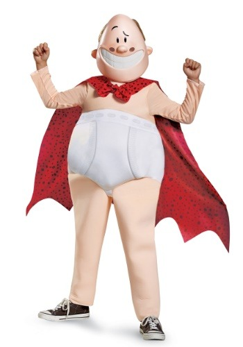 Captain Underpants Deluxe Boys Costume