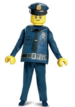 Lego Police Officer Deluxe Child Costume