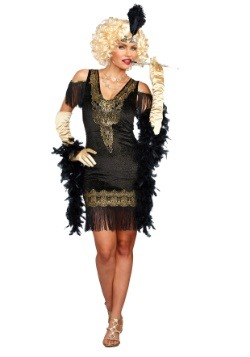 Swanky Women's Flapper Costume