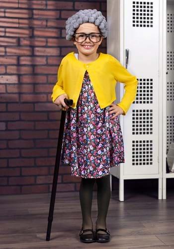 Girls Grandma Costume