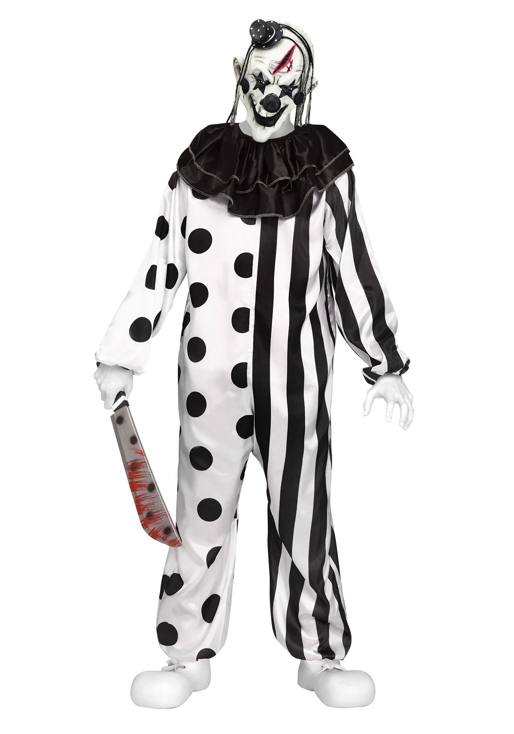 killer clown teen costume