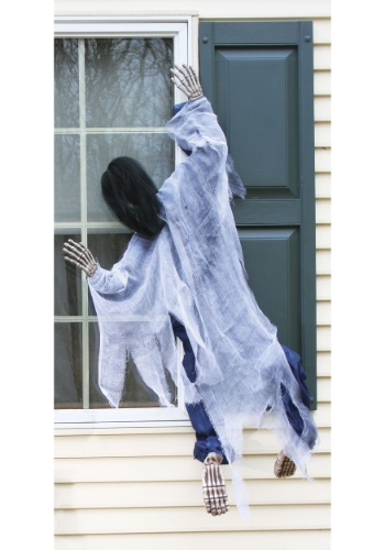 Halloween Witch Window Hanging Decoration