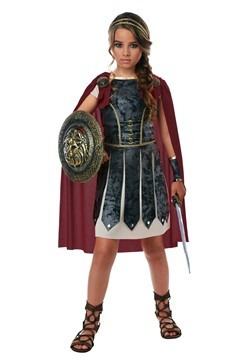 Girls Fearless Gladiator Costume-update1