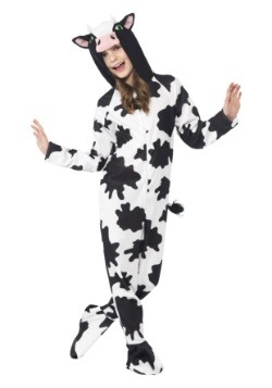 Kids Spotted Cow Costume