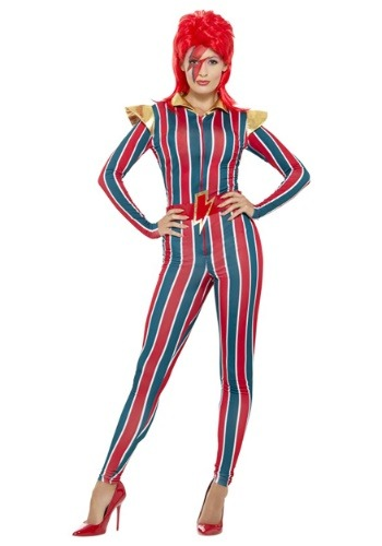 Womans 80s Space Superstar Costume
